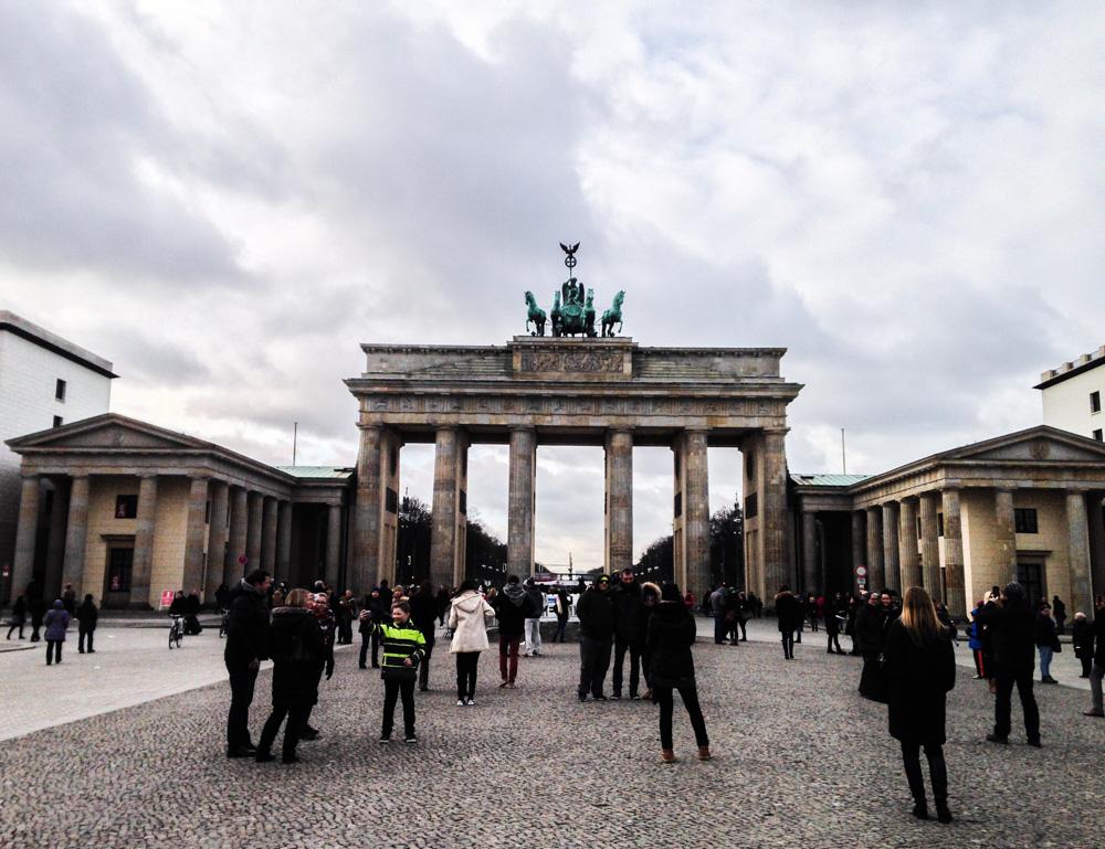 Portão, Brandemburgo, Berlim, Brandenburger, Tor, Berlin