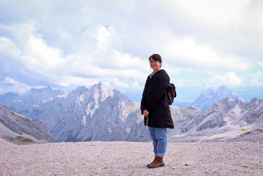 eu na montanha