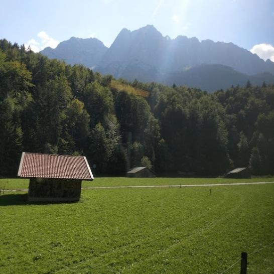Vista de Garmisch-Partenkirchen