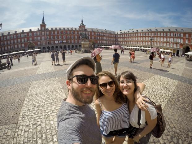 plaza, mayor, madrid