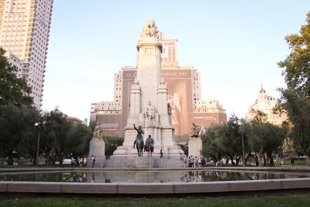 plaza, espanha, españa, madrid